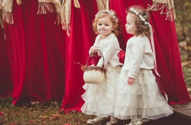 Red Autumn Rustic Wedding {Amy Zumwalt Photographers} 16