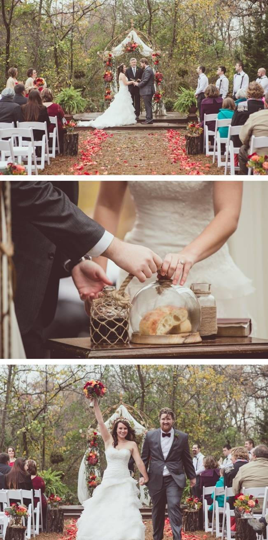 Red Autumn Rustic Wedding {Amy Zumwalt Photographers} 18