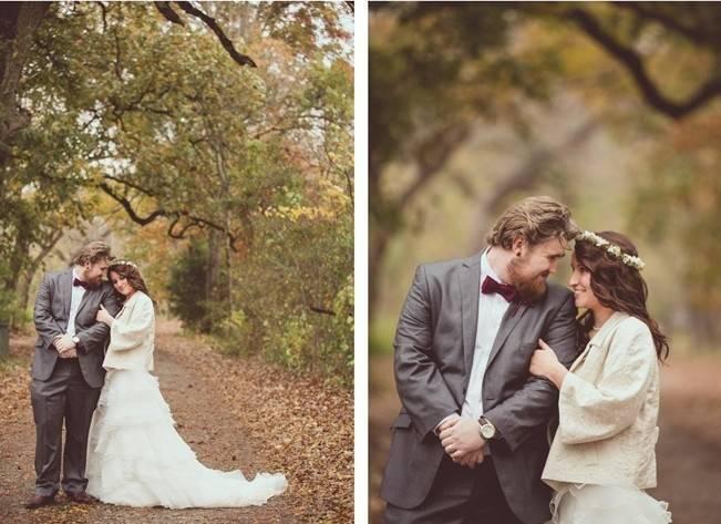 Red Autumn Rustic Wedding {Amy Zumwalt Photographers} 19