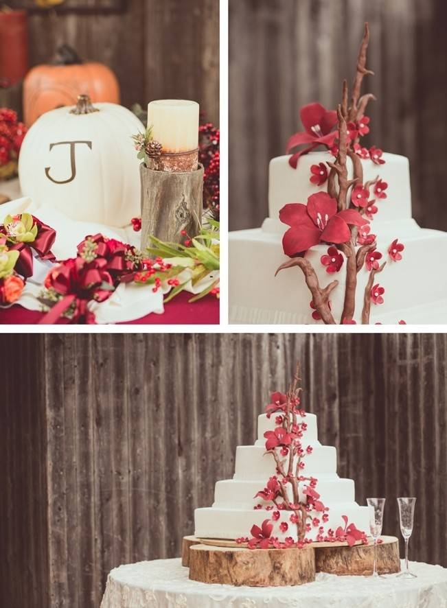 Red Autumn Rustic Wedding {Amy Zumwalt Photographers} 23