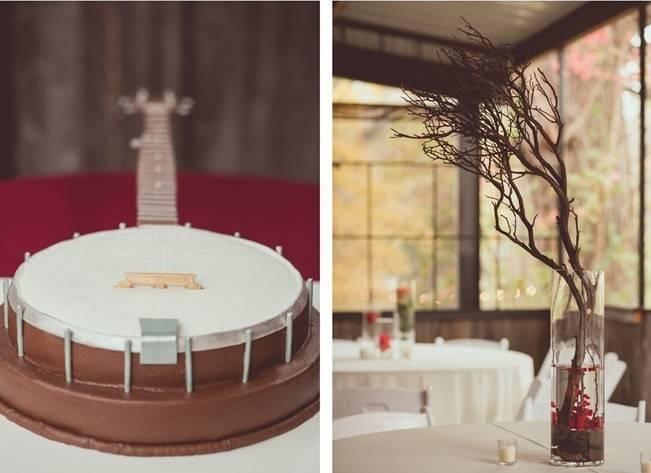 Red Autumn Rustic Wedding {Amy Zumwalt Photographers} 24