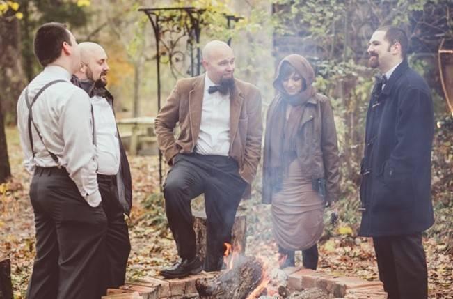 Red Autumn Rustic Wedding {Amy Zumwalt Photographers} 25