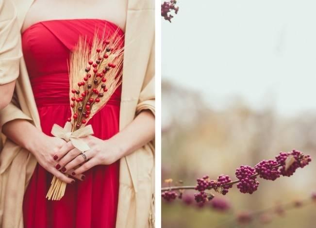 Red Autumn Rustic Wedding {Amy Zumwalt Photographers} 4