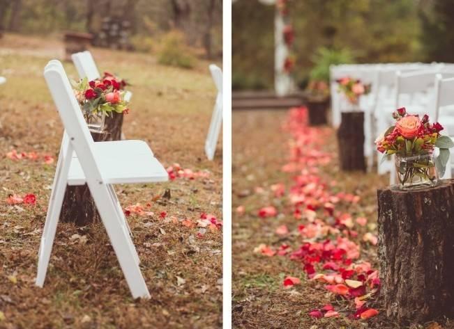 Red Autumn Rustic Wedding {Amy Zumwalt Photographers} 8