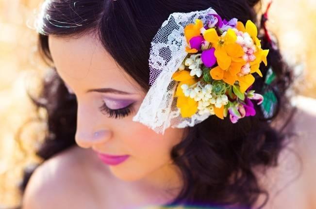 Rustic Rock N Roll Bridal Inspiration {Alexandra Wallace}