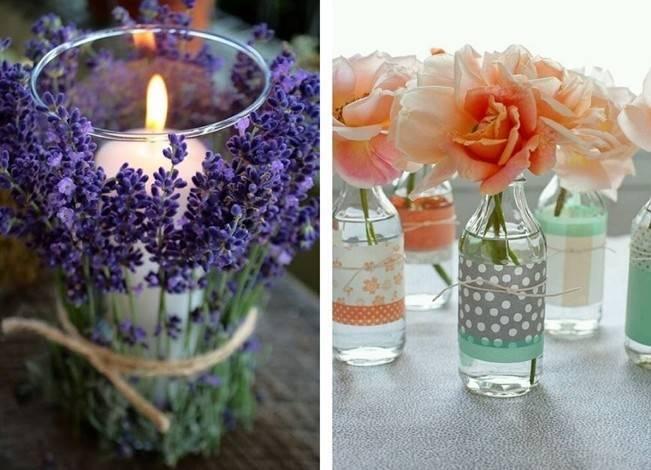 Simple DIY Wedding Centerpiece Ideas 4