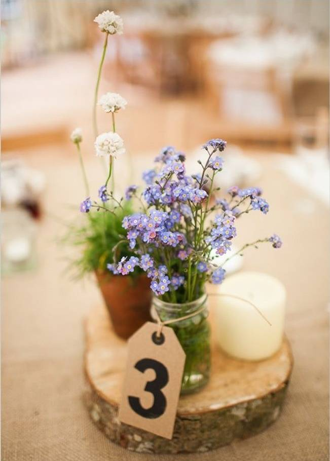 Simple DIY Wedding Centerpiece Ideas 5