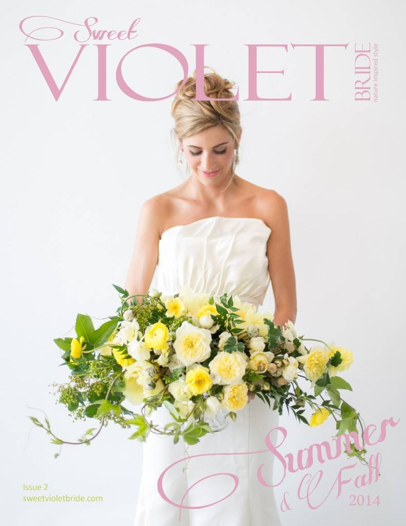 Sweet Violet Bride Issue 2 Cover