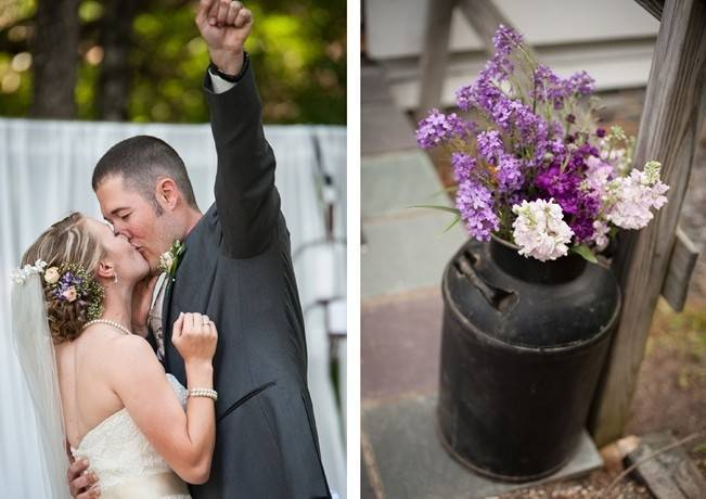 Turquoise + Purple Country Wedding {Bethany Snyder Photography} 13