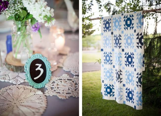 Turquoise + Purple Country Wedding {Bethany Snyder Photography} 25