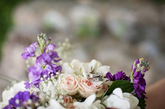 Turquoise + Purple Country Wedding {Bethany Snyder Photography} 3