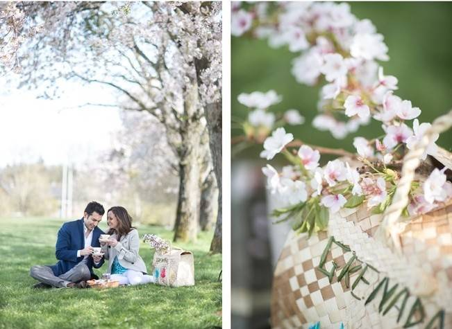 Vancouver Cherry Blossom Engagement {Maru Photography} 10