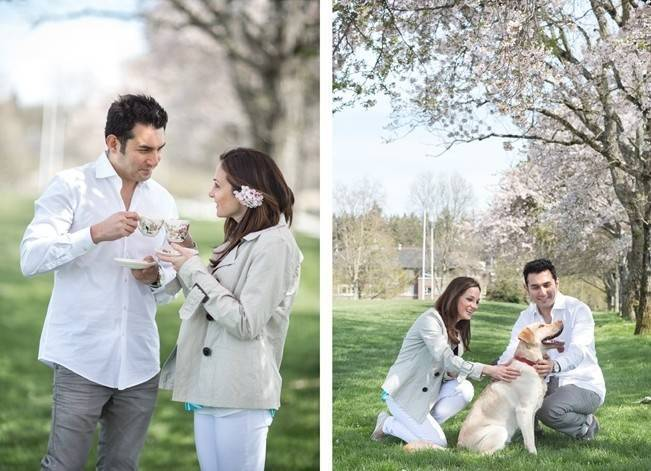 Vancouver Cherry Blossom Engagement {Maru Photography} 14