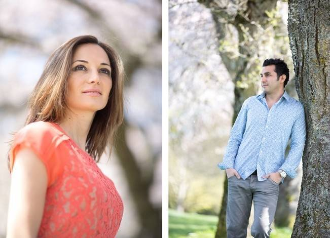Vancouver Cherry Blossom Engagement {Maru Photography} 2