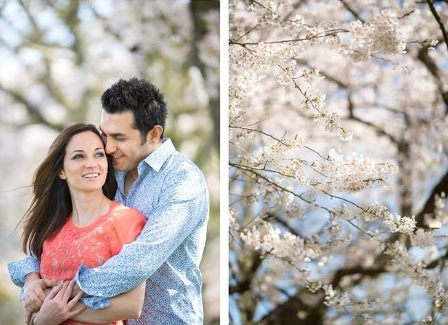Vancouver Cherry Blossom Engagement {Maru Photography} 4