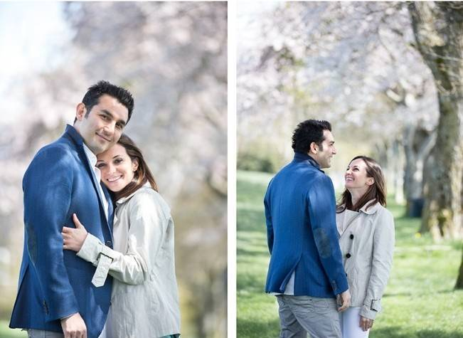 Vancouver Cherry Blossom Engagement {Maru Photography} 6
