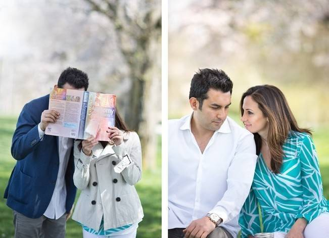 Vancouver Cherry Blossom Engagement {Maru Photography} 8