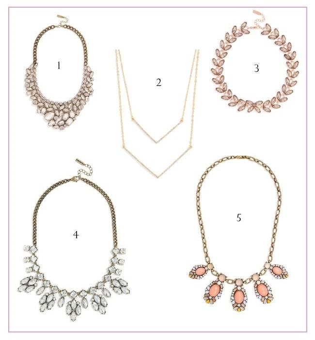 Bauble Bar Necklaces - Bridal Picks