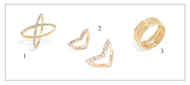 Bauble Bar Rings - Bridal Picks