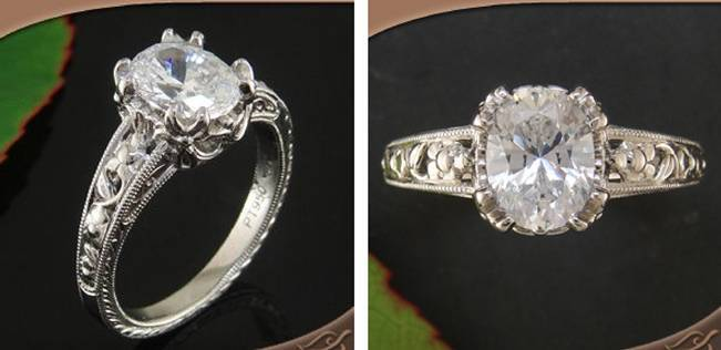 Beautiful Bachelorette-Inspired Oval Engagement Rings 11