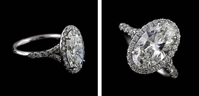 Beautiful Bachelorette-Inspired Oval Engagement Rings 5