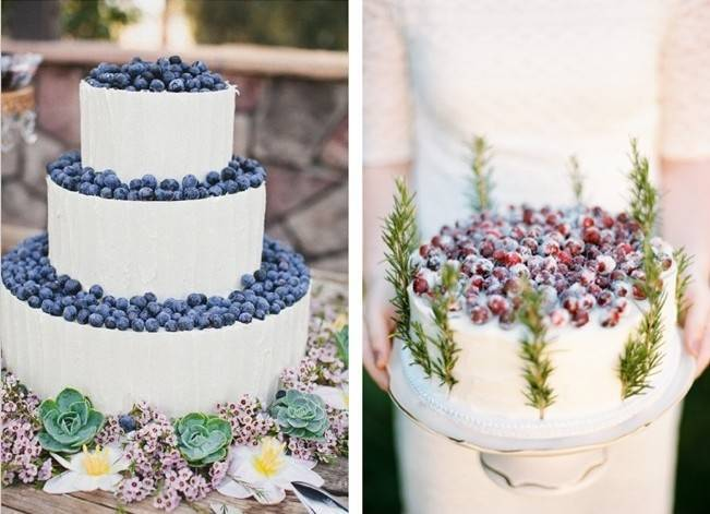 Berry Wedding Cake Ideas 3