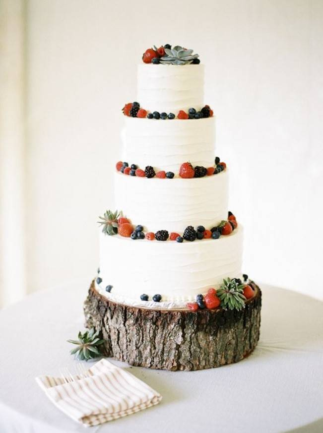 Berry Wedding Cake Ideas 5