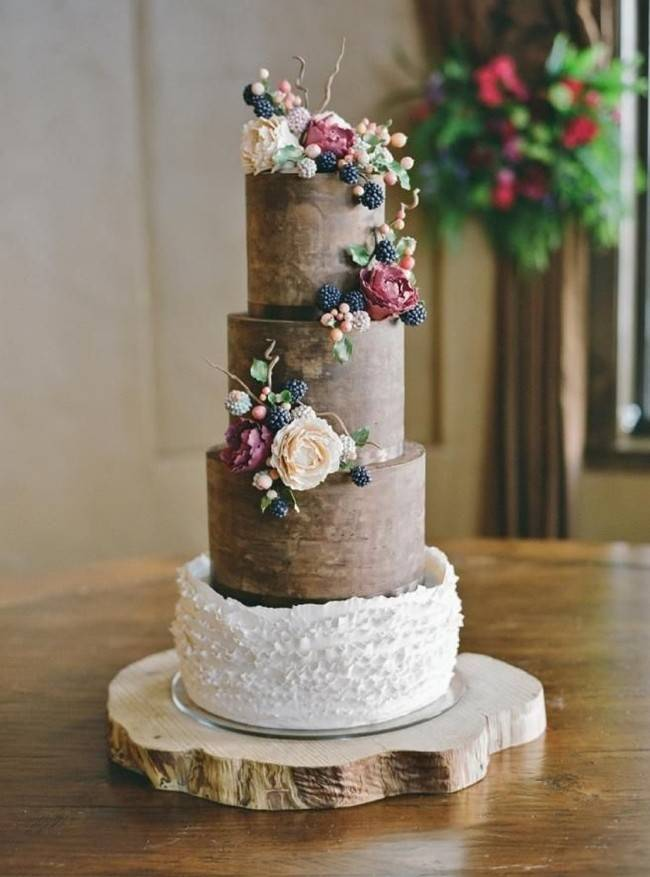 Berry Wedding Cake Ideas 9