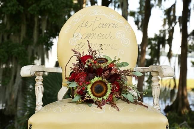 Florida Glamping Styled Wedding {Heather Rice Photography}