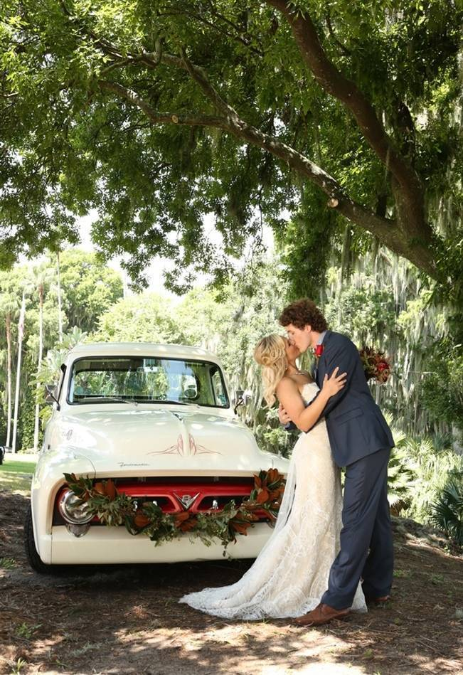 Florida Glamping Styled Wedding {Heather Rice Photography} 11