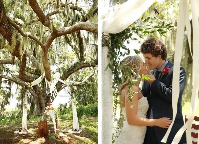 Florida Glamping Styled Wedding {Heather Rice Photography} 15