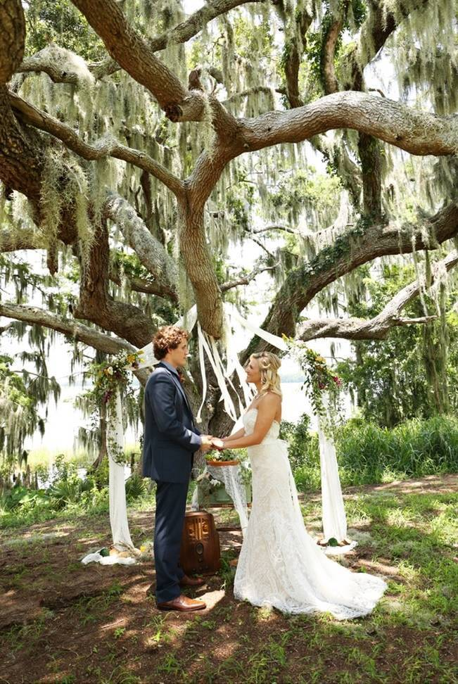 Florida Glamping Styled Wedding {Heather Rice Photography} 16