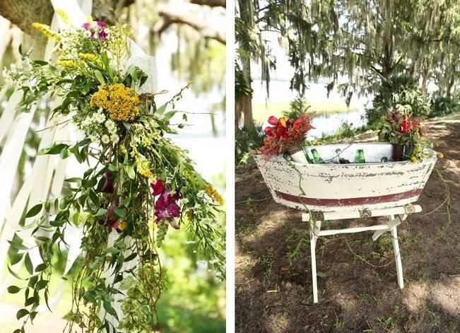 Florida Glamping Styled Wedding {Heather Rice Photography} 17