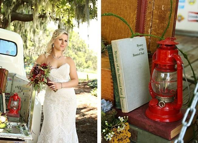 Florida Glamping Styled Wedding {Heather Rice Photography} 2