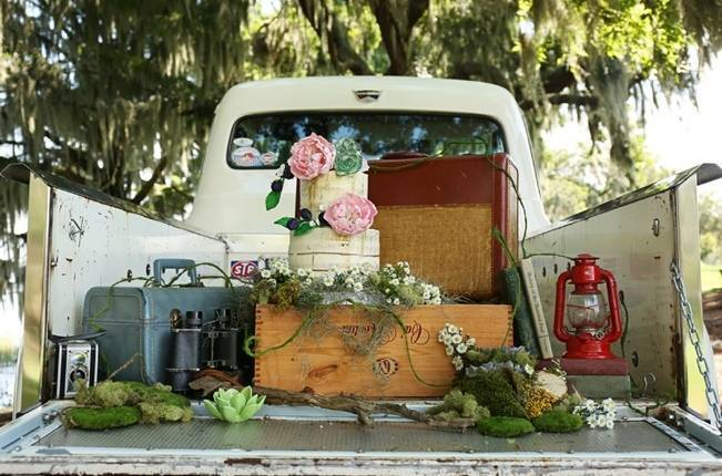 Florida Glamping Styled Wedding {Heather Rice Photography} 7