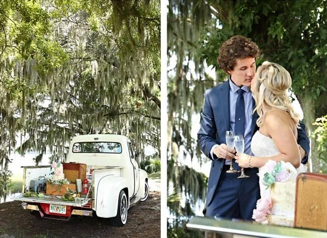 Florida Glamping Styled Wedding {Heather Rice Photography} 8