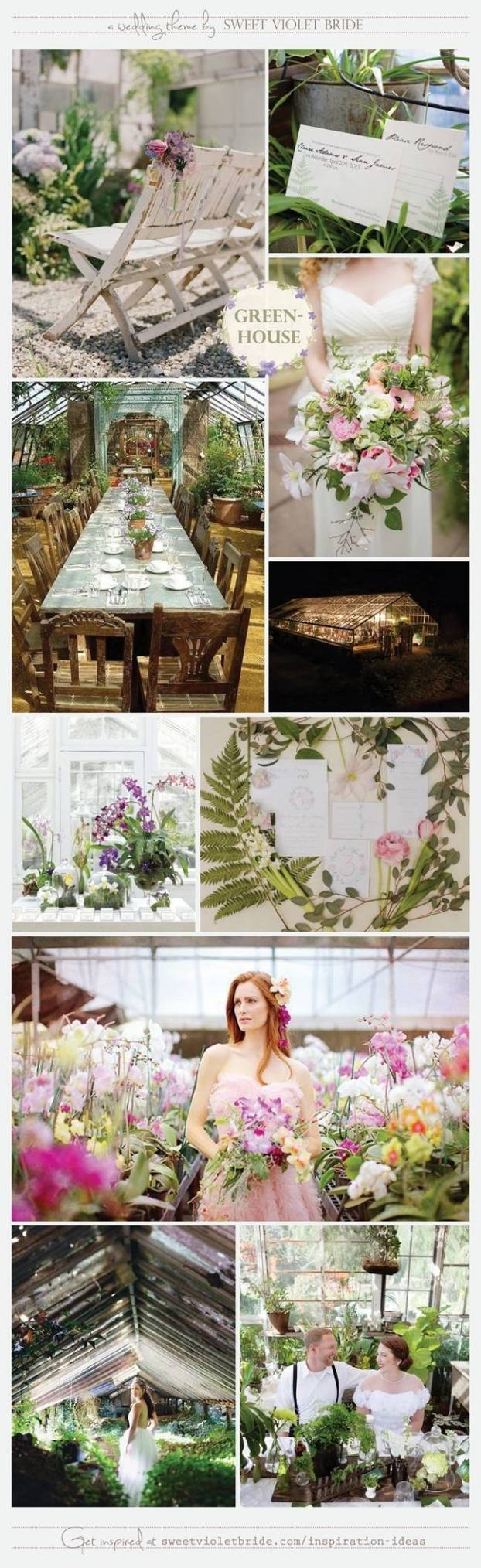 Wedding Inspiration Board #28: Greenhouse