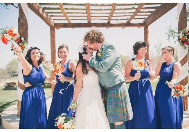 Music-Themed Scottish Wedding in Texas {Rememory Photography} 10