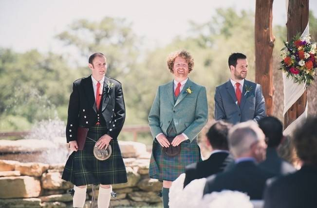 Music-Themed Scottish Wedding in Texas {Rememory Photography} 6