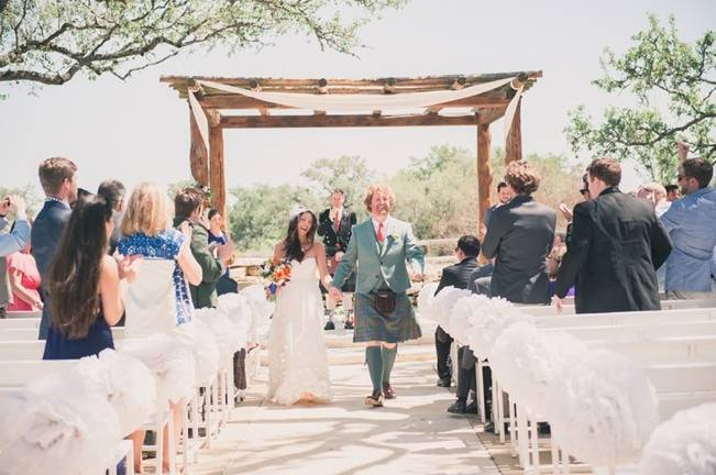 Music-Themed Scottish Wedding in Texas {Rememory Photography} 9
