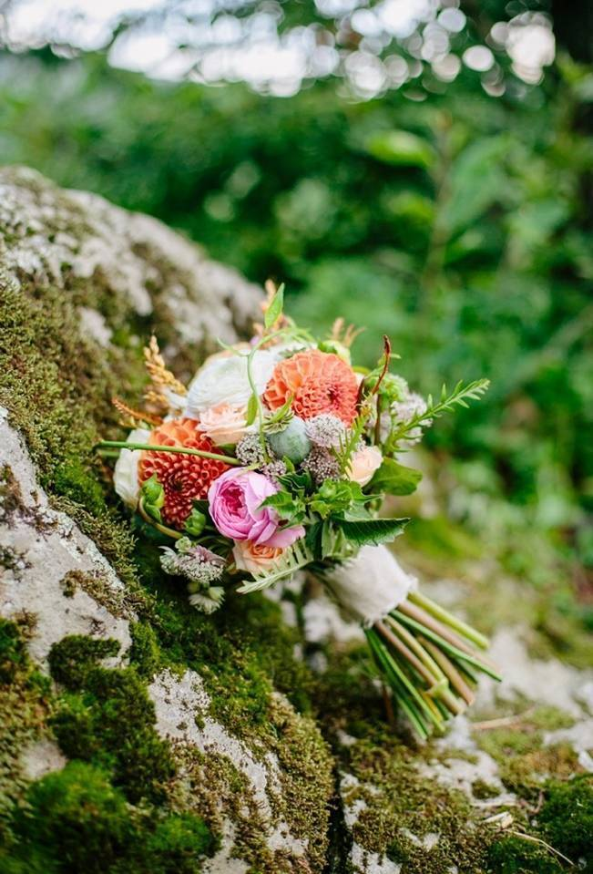 Romantic Vermont Country Wedding Style {The Light + Color} 10