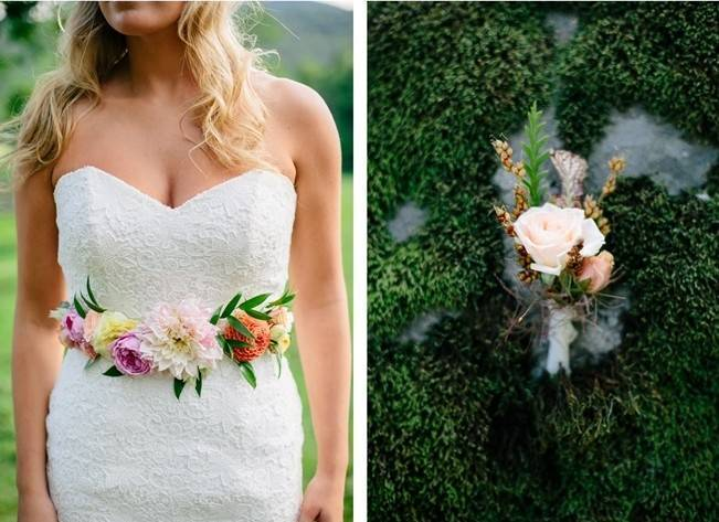 Romantic Vermont Country Wedding Style {The Light + Color} 11