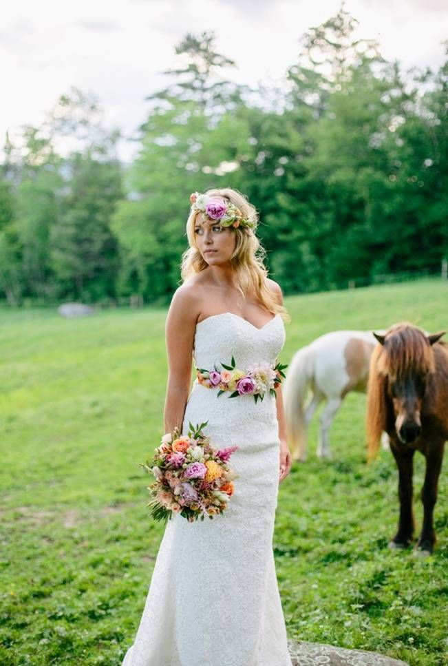 Romantic Vermont Country Wedding Style {The Light + Color} 14