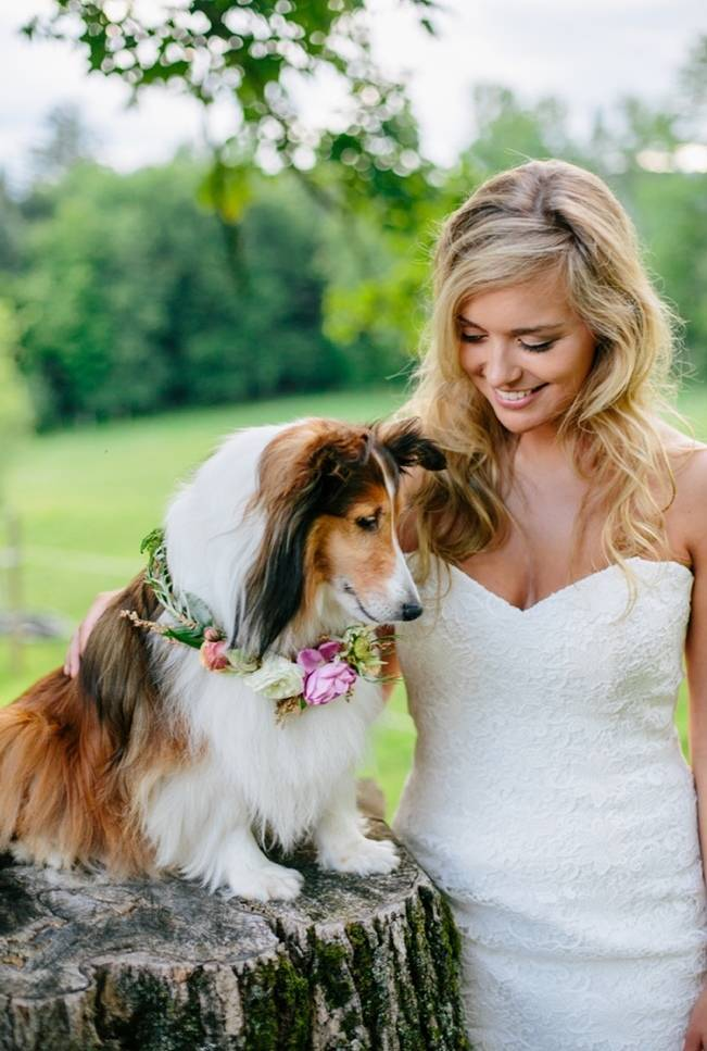 Romantic Vermont Country Wedding Style {The Light + Color} 18