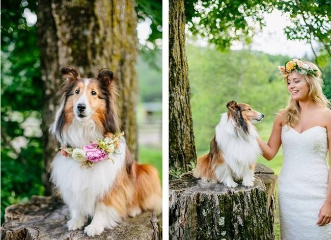 Romantic Vermont Country Wedding Style {The Light + Color} 19