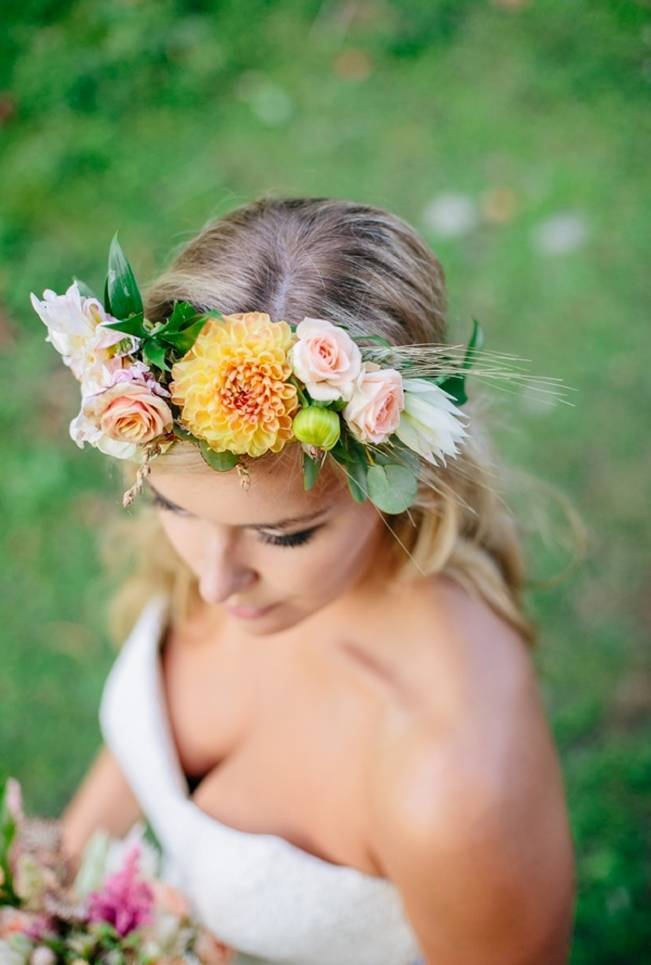 Romantic Vermont Country Wedding Style {The Light + Color} 20