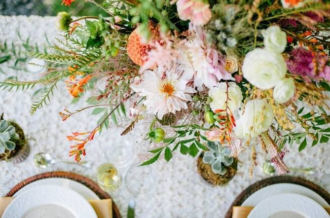 Romantic Vermont Country Wedding Style {The Light + Color} 4