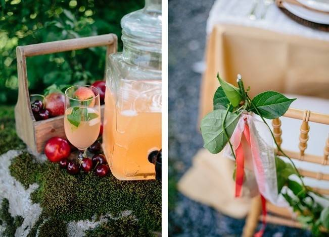 Romantic Vermont Country Wedding Style {The Light + Color} 5