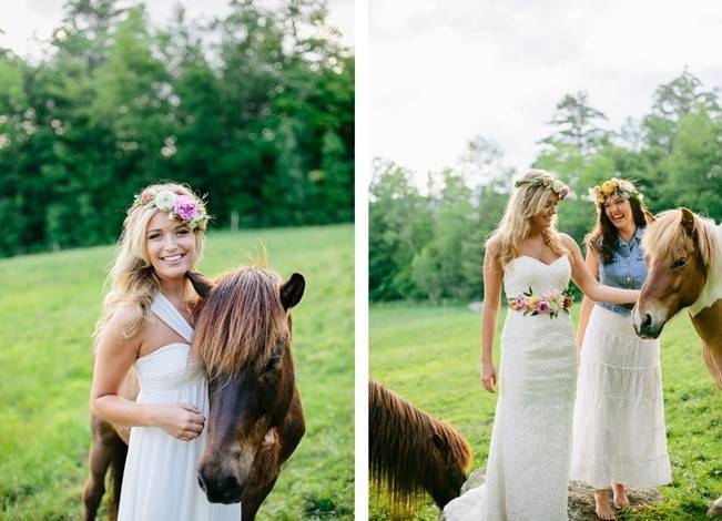 Romantic Vermont Country Wedding Style {The Light + Color}13