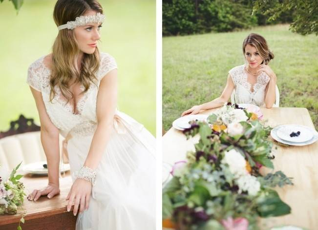 Sweet, Carolina Summer Wedding Style {Bailey Smith Photography} 9